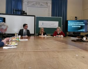 Constitutional Roundtable with Akis Psykgas