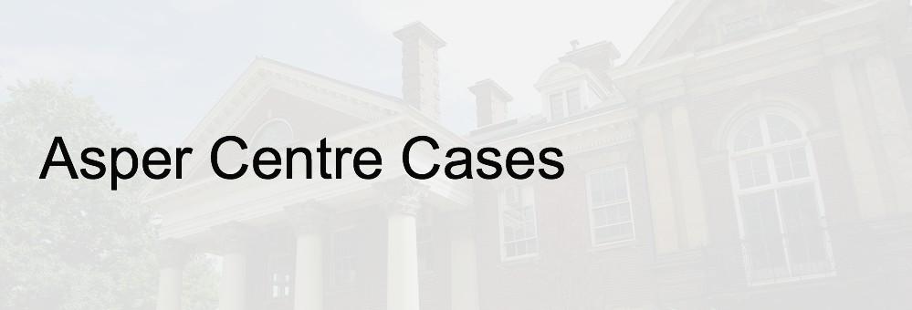 Asper Centre Cases