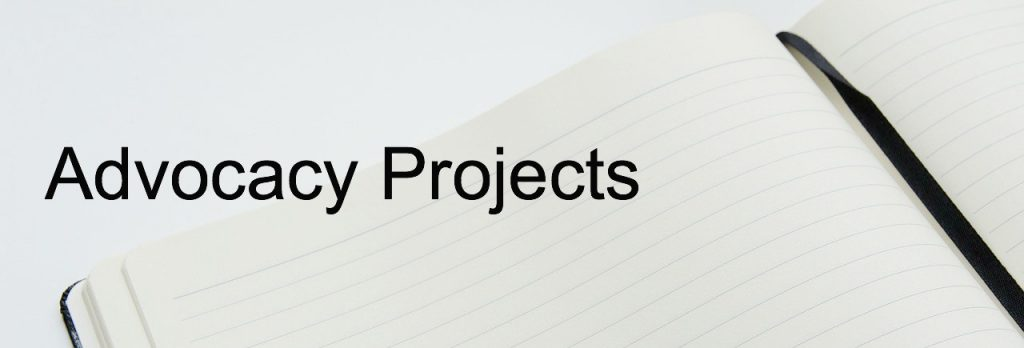 Advocacy Projects