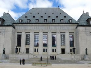 Supremer Court of Canada building