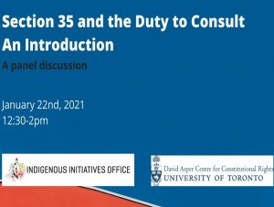 An Introduction to the Duty to Consult